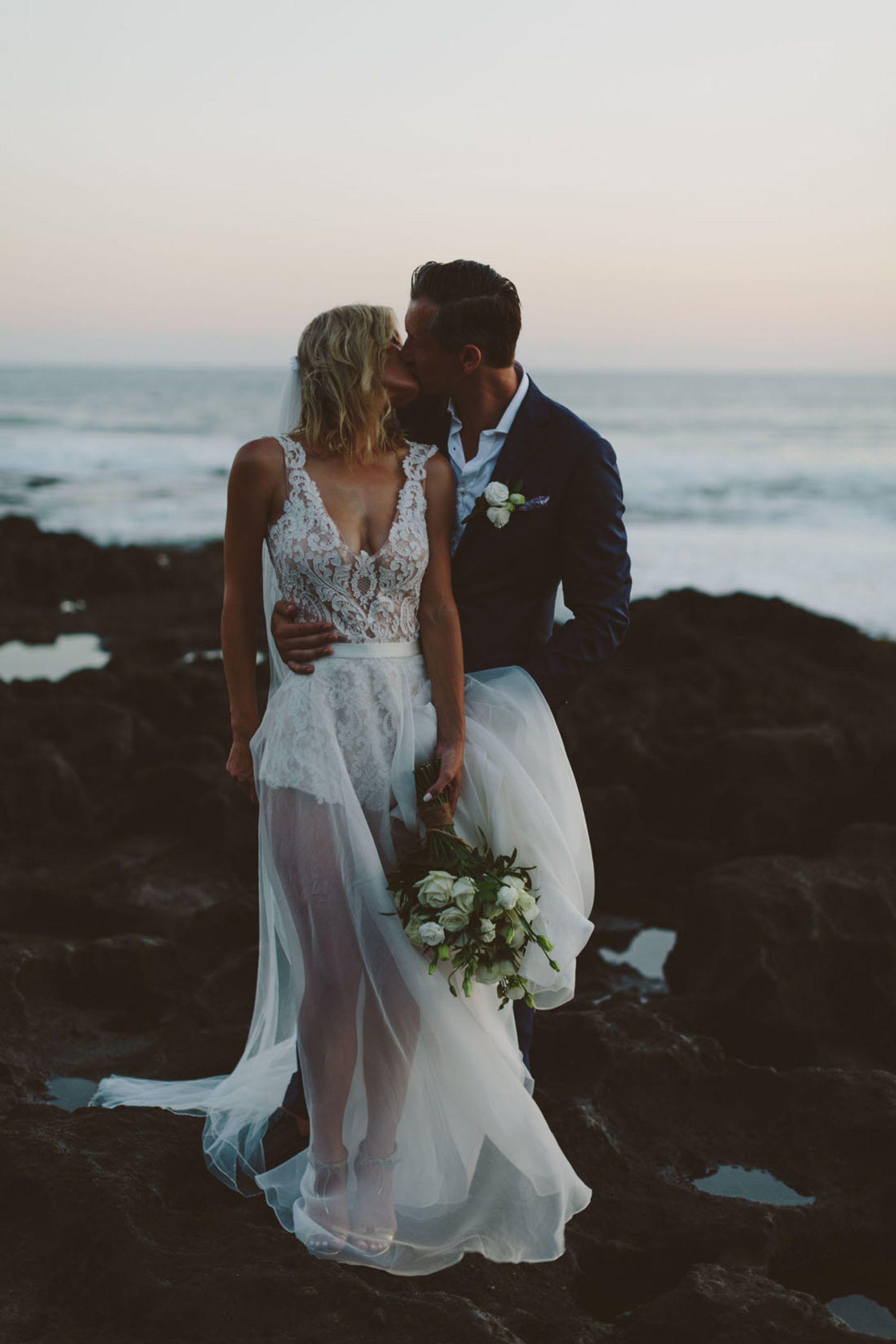 Meg u jamieus beach villa wedding in bali wedding photo ideas