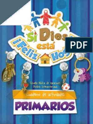 Primarios Ebv 2014 Si Dios Esta Feliz Hogar Pdf In 2020