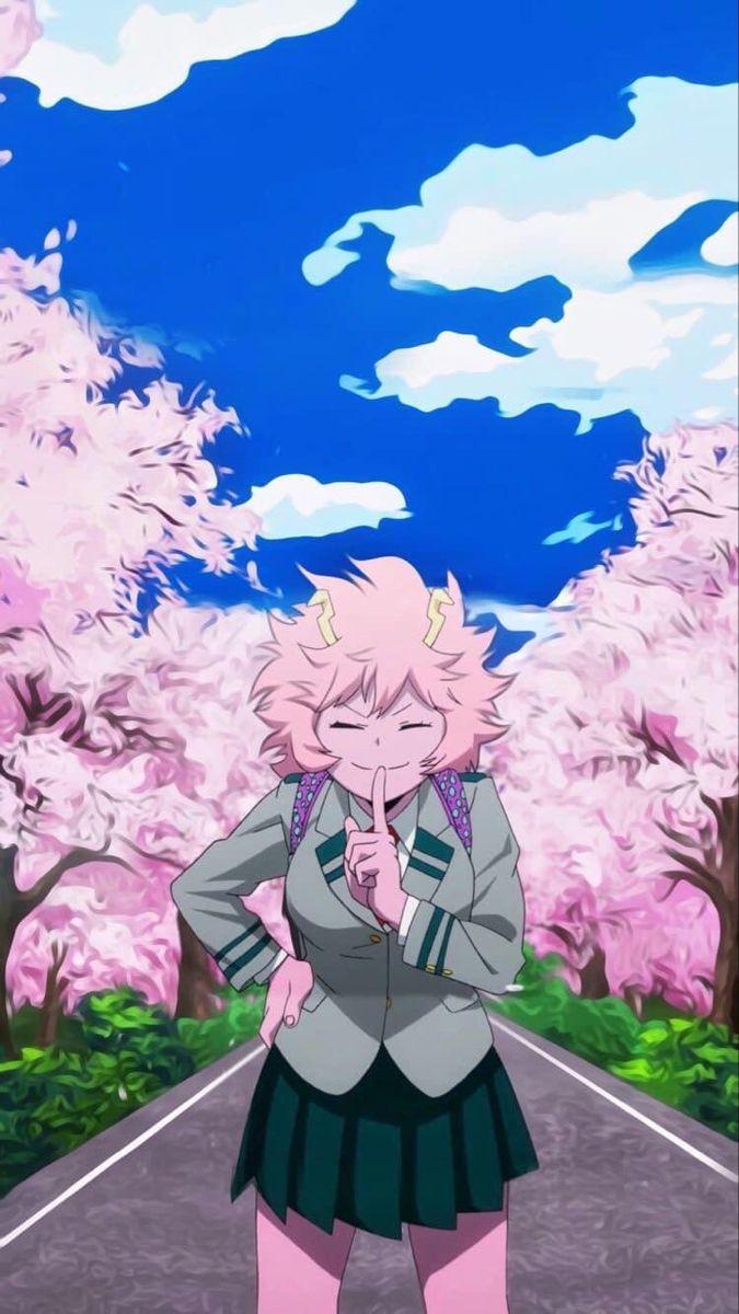 Mina Ashido Pinky Aesthetic Wallpaper My Hero Academia Episodes Anime Wallpaper Princess Drawings