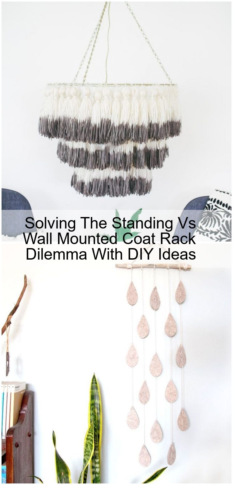 Solving The Standing Vs Wall Mounted Coat Rack Dilemma With DIY Ideas