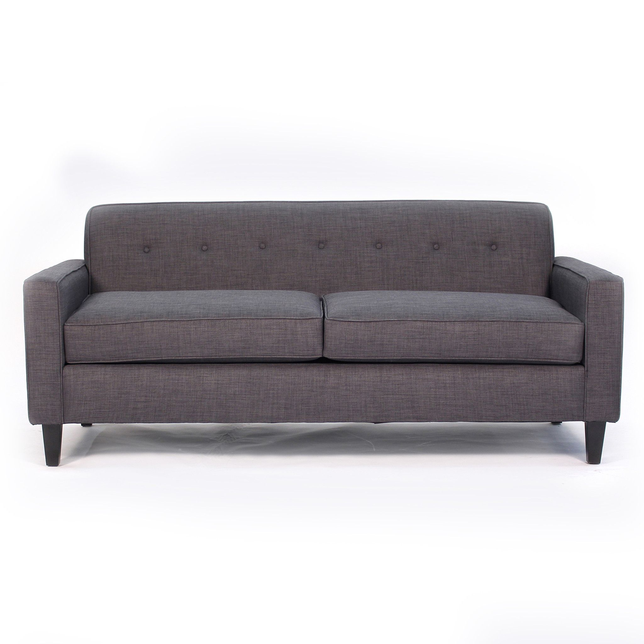 The Soho Mid Century Modern Apt Size Sofa Is Sleek Neat And