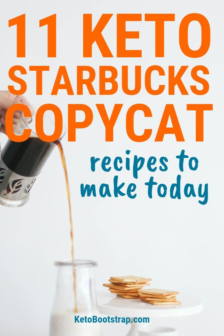 Homemade Starbucks Copycat Recipes That Are Keto-Friendly images