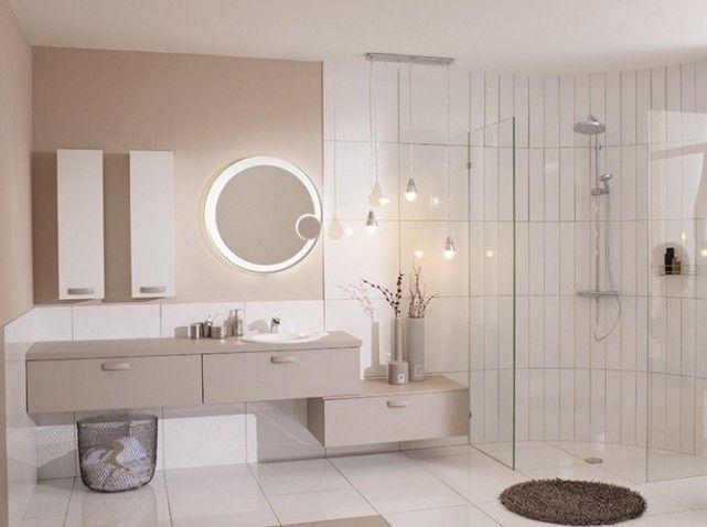 35 salles de bains design elle d coration salle de bains taupe taupe et salle de bains. Black Bedroom Furniture Sets. Home Design Ideas
