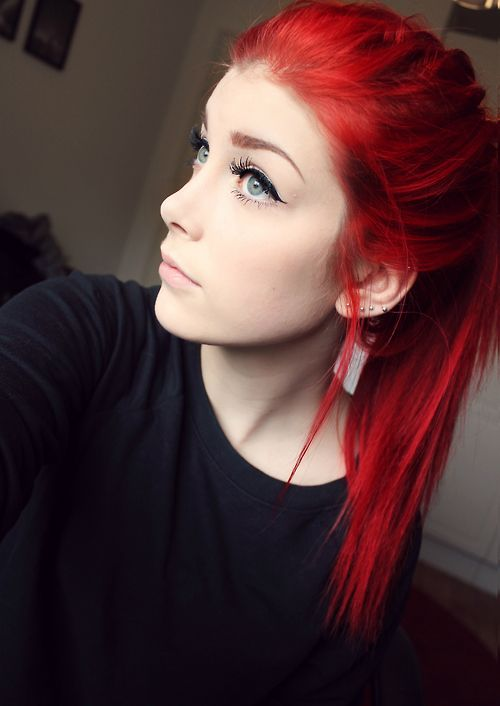 Http Lostcore Tumblr Com Post 82461601955 Hi Hair Styles Dark Hair Dye Red Hair Color