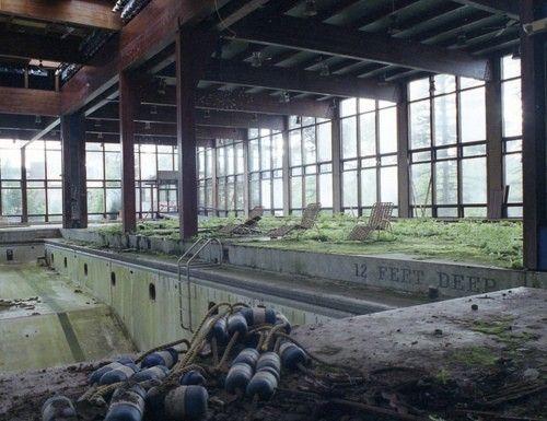 Abandoned Pool Beautiful But Forgotten Pinterest