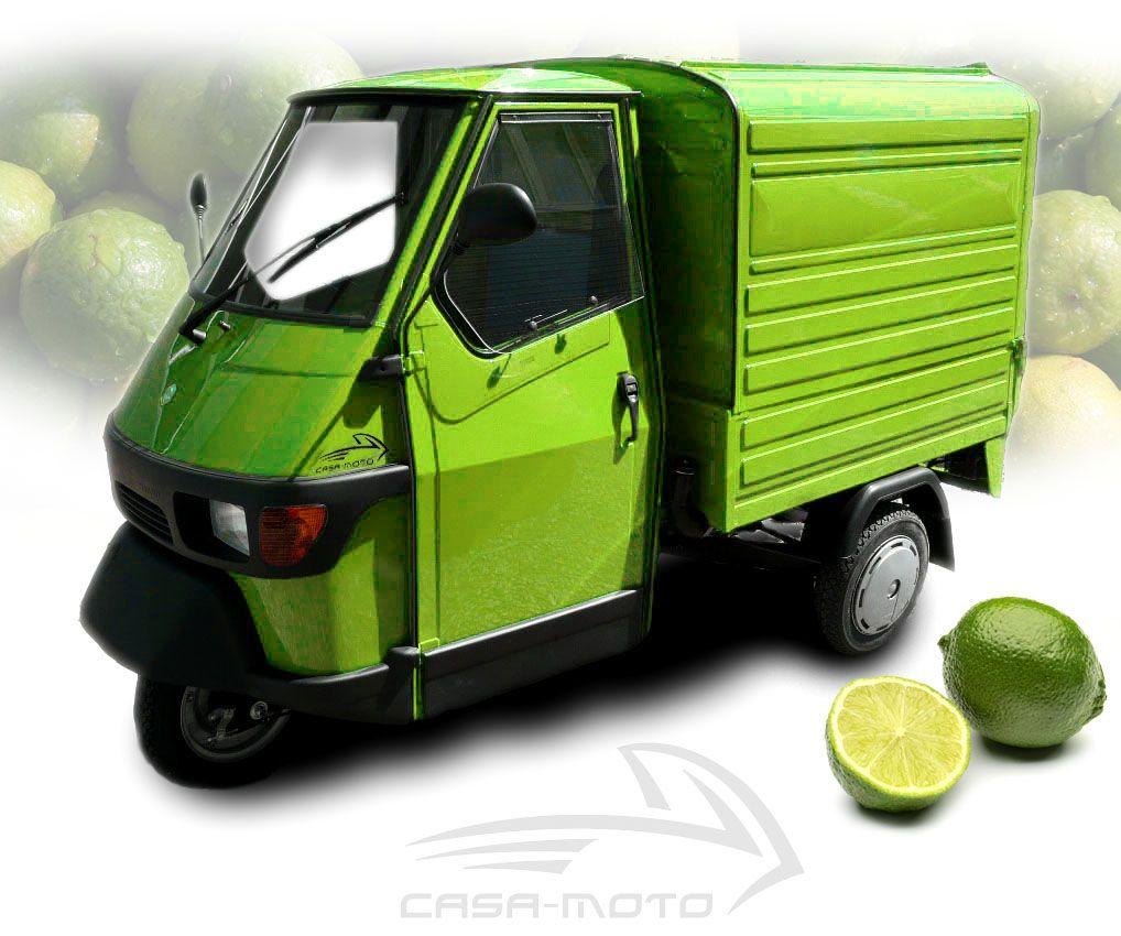 limitierte piaggio ape kastenversion in der farbe verde. Black Bedroom Furniture Sets. Home Design Ideas