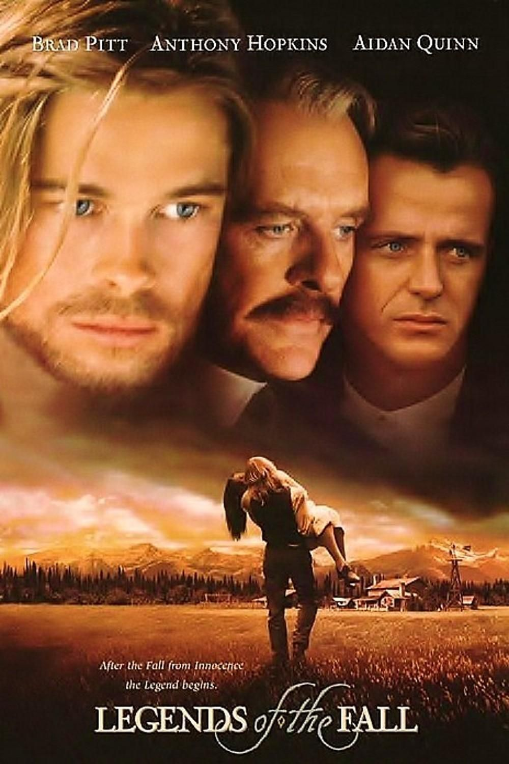 ...from 1994 Legends of the Fall with Brad Pitt, Aidan ...