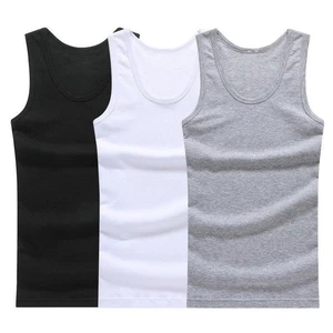 Hot Sale 3pcs 100 Cotton Mens Sleeveless Tank Top Solid Muscleheave Heavengif In 2020 Solid Tank Tops Mens Tank Tops Tank Tops