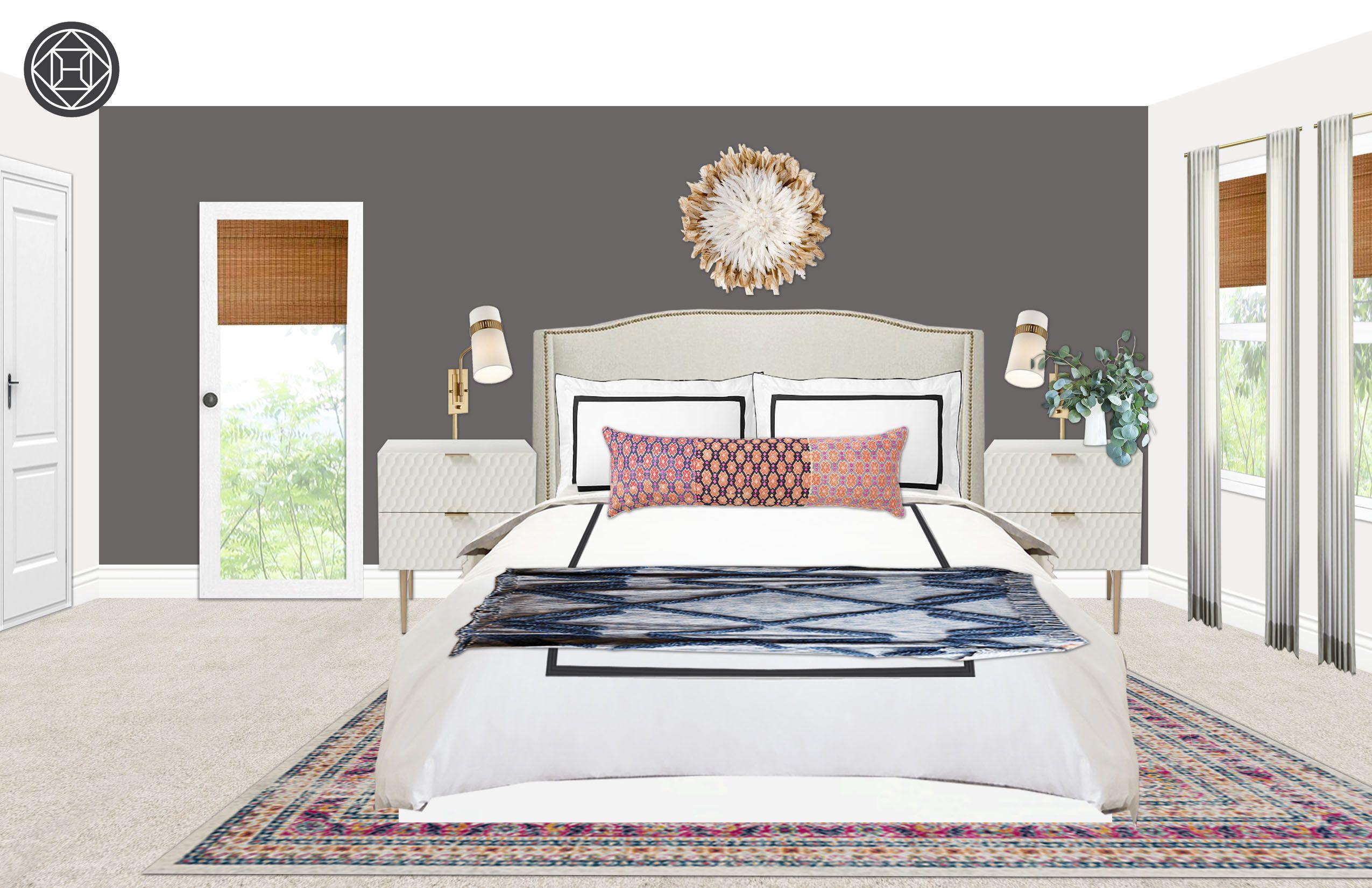 Bedroom Design By Havenly Interior Designer Michelle New Bedroom