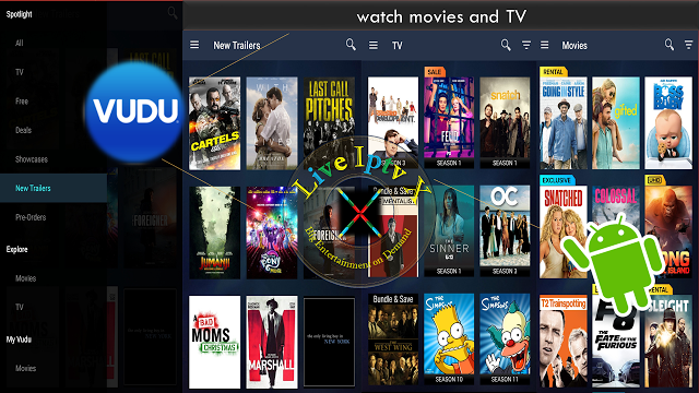 Best Streaming TV Online Vudu Movies & TV APK For