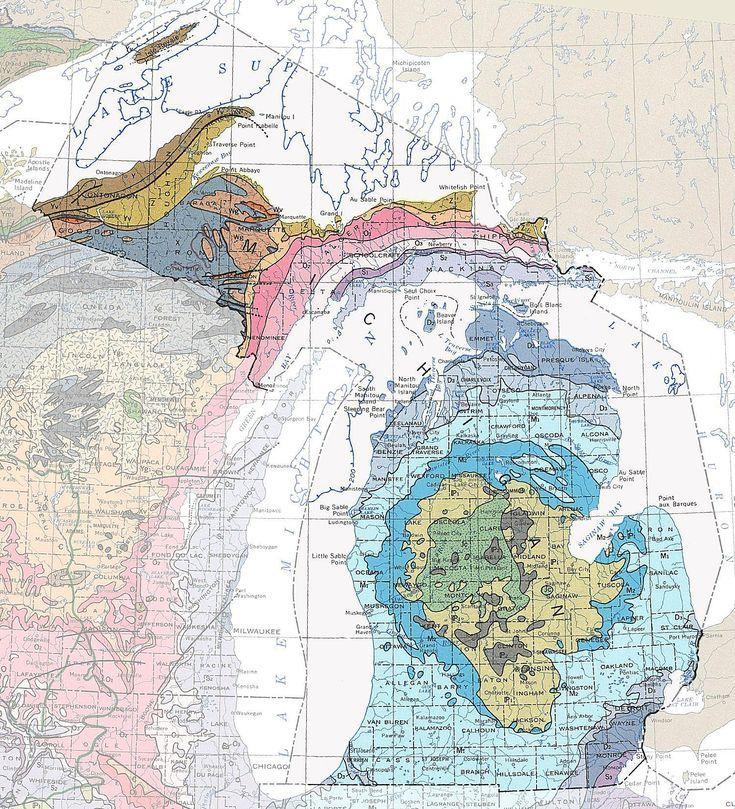 Geologic Maps of the 50 United States United states