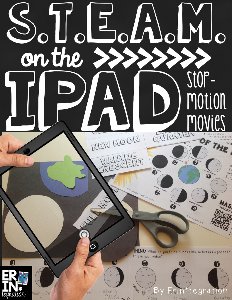 STEAM on the iPad with Stop Motion Free App