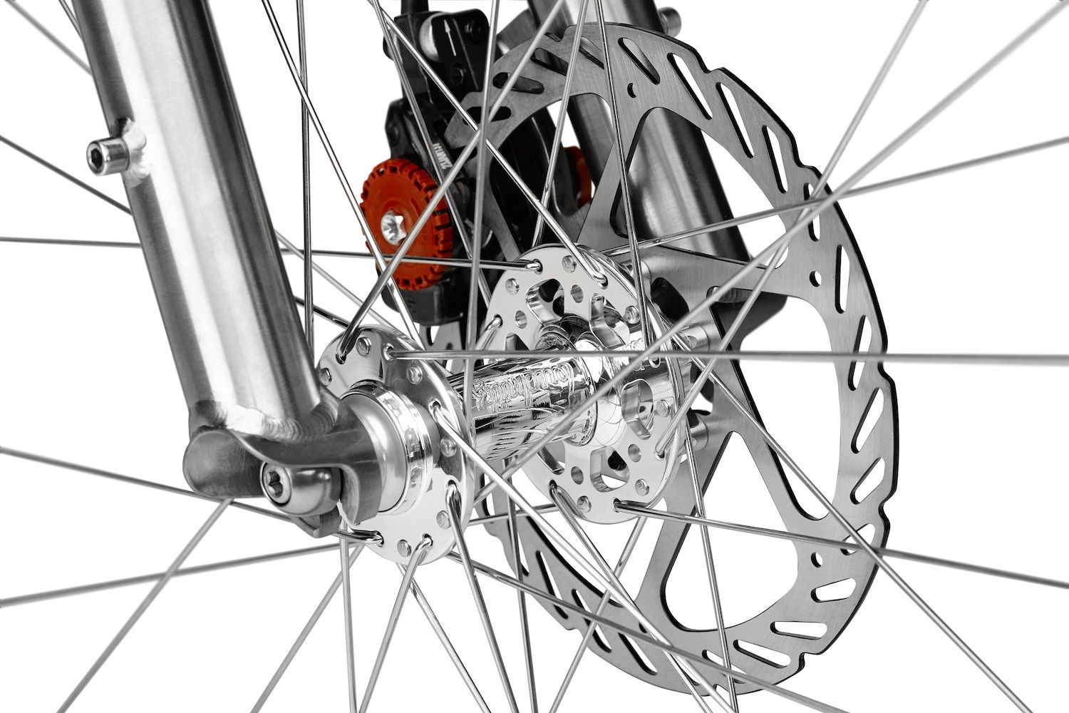 Silver Front Hub Titanium Bike Bicycle Bicycle Store