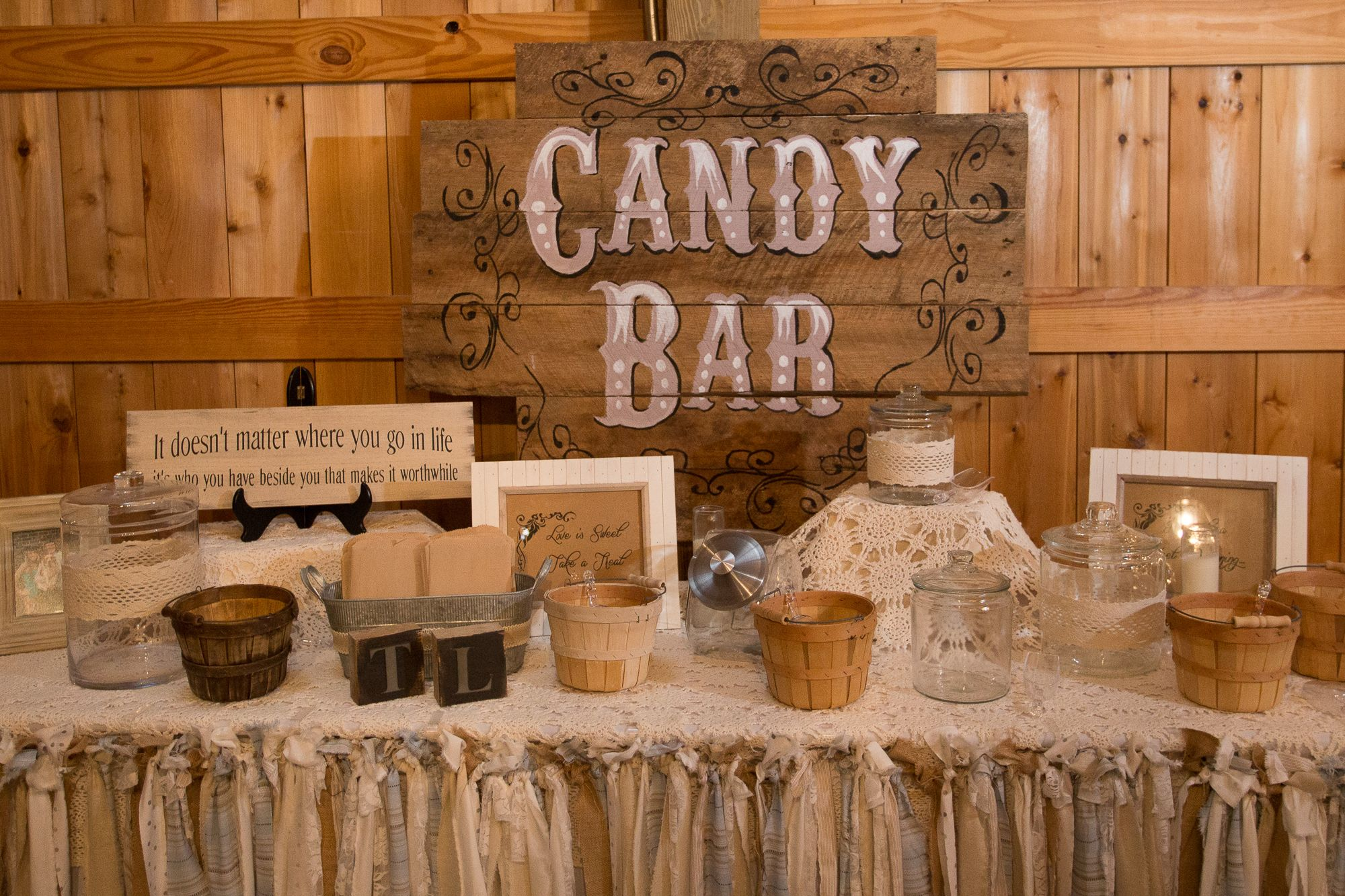 vintageinspired rustic candy bar my rustic country