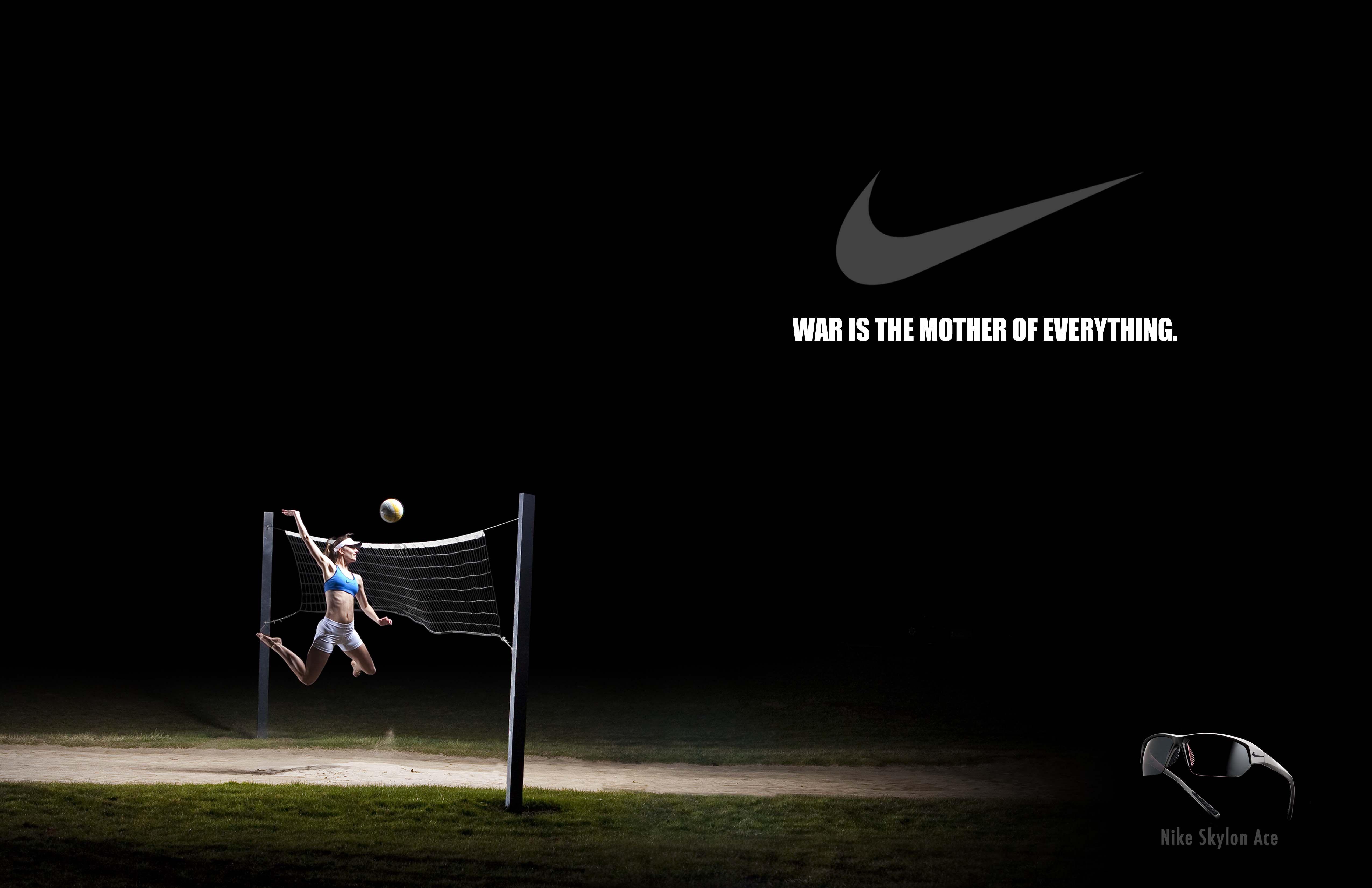 Getwellfed Hungry Nike Volleyball Nike Nike Ad