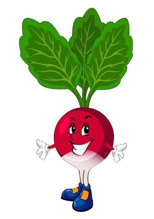Для заставки, веселые овощи картинка для детей