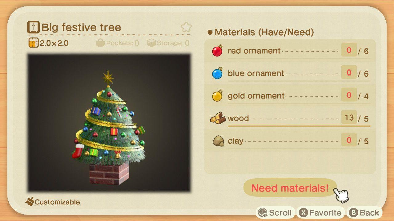 Animal Crossing New Horizons Festive Season Diy Recipe List Polygon Animal Crossing Christmas Animals Animal Crossing Game