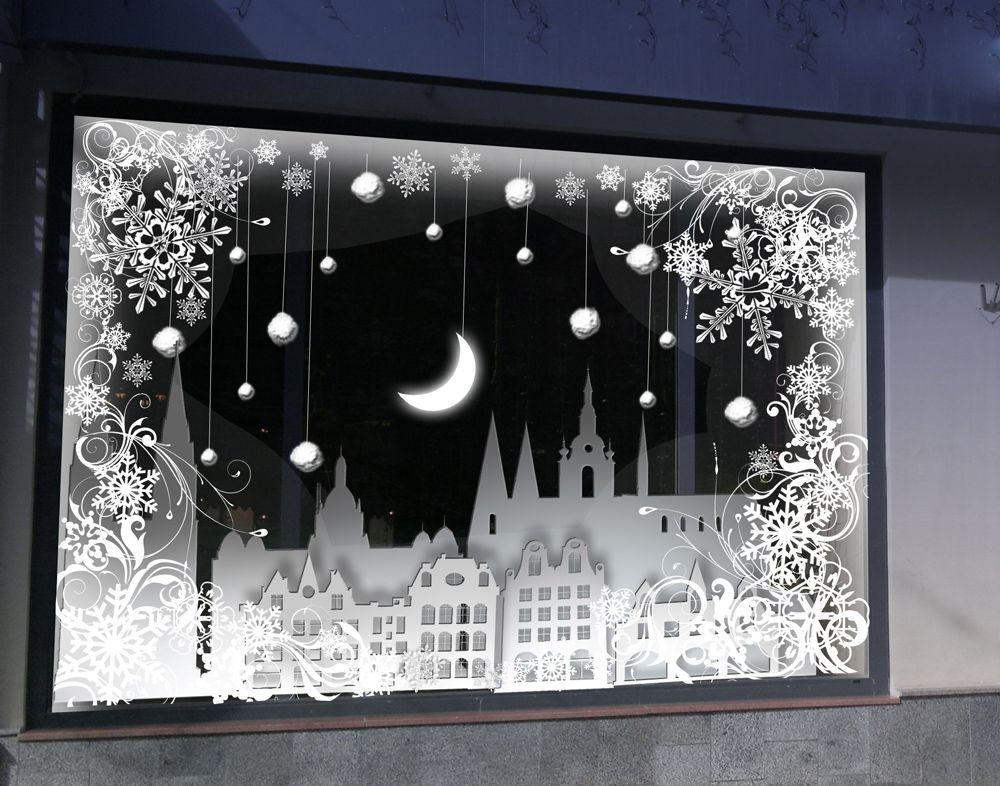 новогоднее оформление витрин фото - Поиск в Google ...