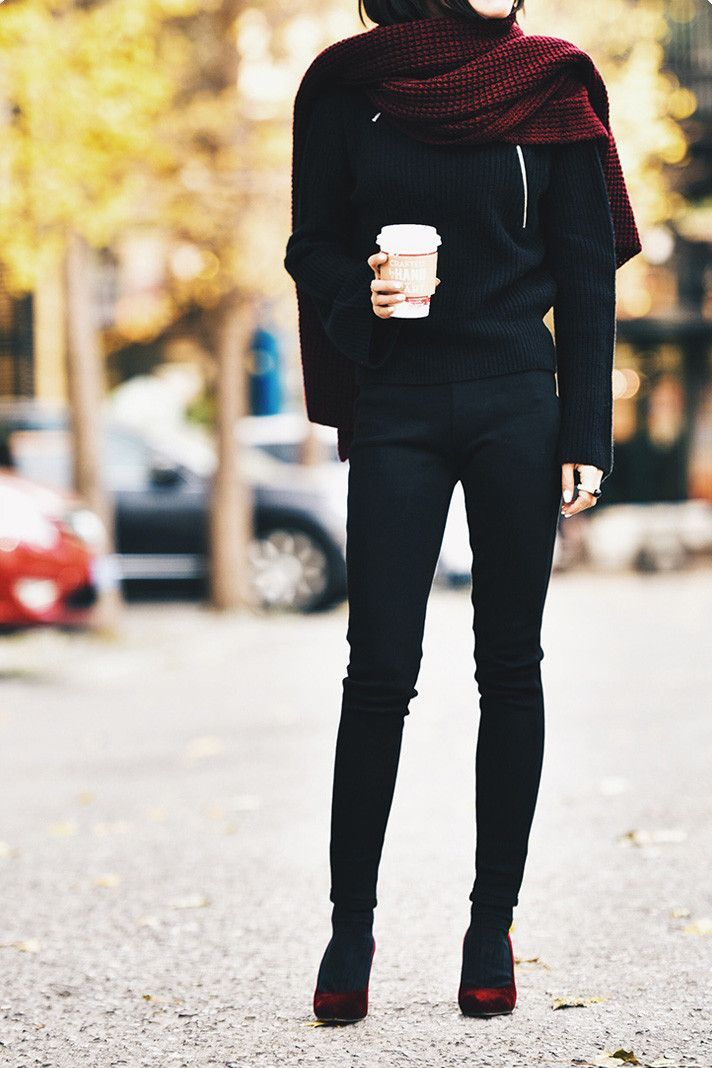 Warm and Dense Elastic Leggings