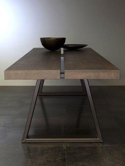 ♂ Contemporary masculine minimalist interior design home deco brown ...