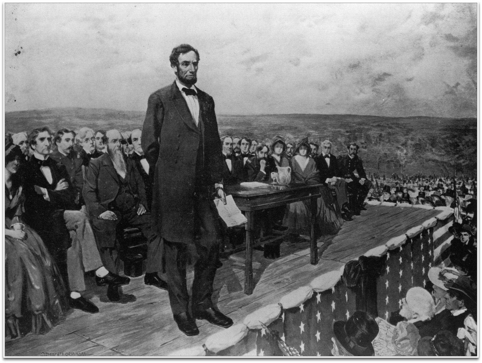 Gettysburg Address Abraham Lincoln Abraham Lincoln Gettysburg