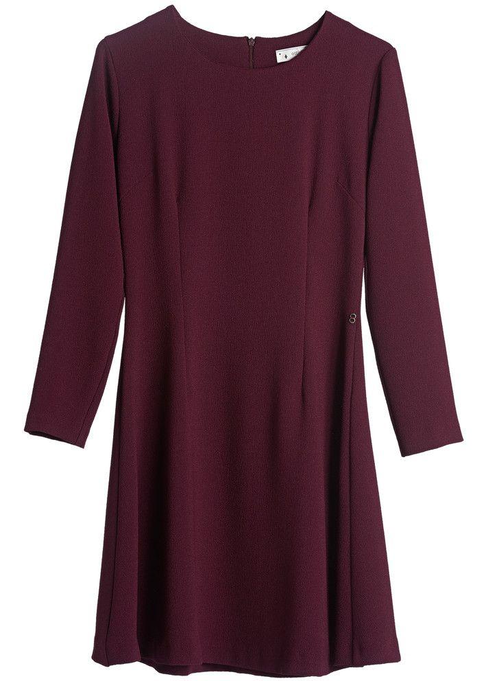 5e9b5fb7 Bordeaux maxi kjole