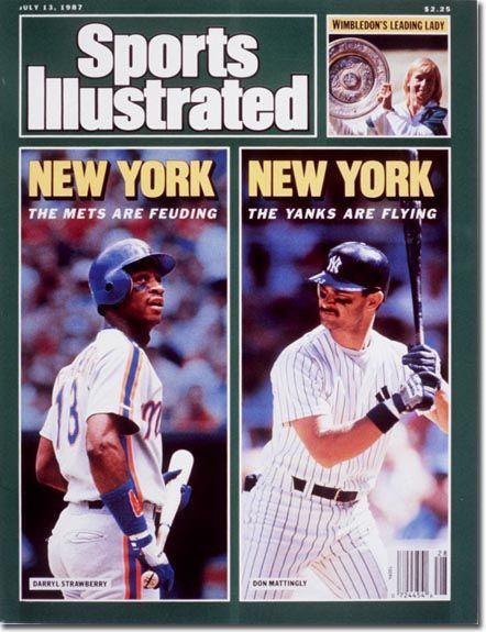 Sports Illustrated Don Mattingly Straw 07 13 87 Sports Illustrated Sports Illustrated Covers Don Mattingly