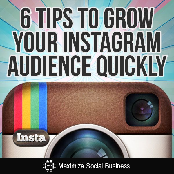 Chances are you've heard the hype about Instagram and may have started an account. Just like any new site, it can take time to grow an audience. Here's some tips to grow your Instagram audience fast.