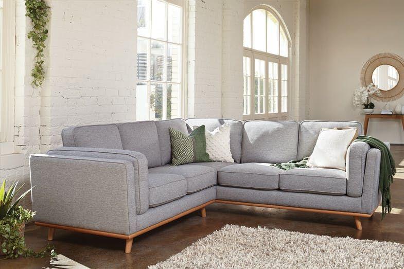 Silverstone 5 Seater Fabric Corner Lounge Suite Harvey Norman New Zealand Furniture Lounge