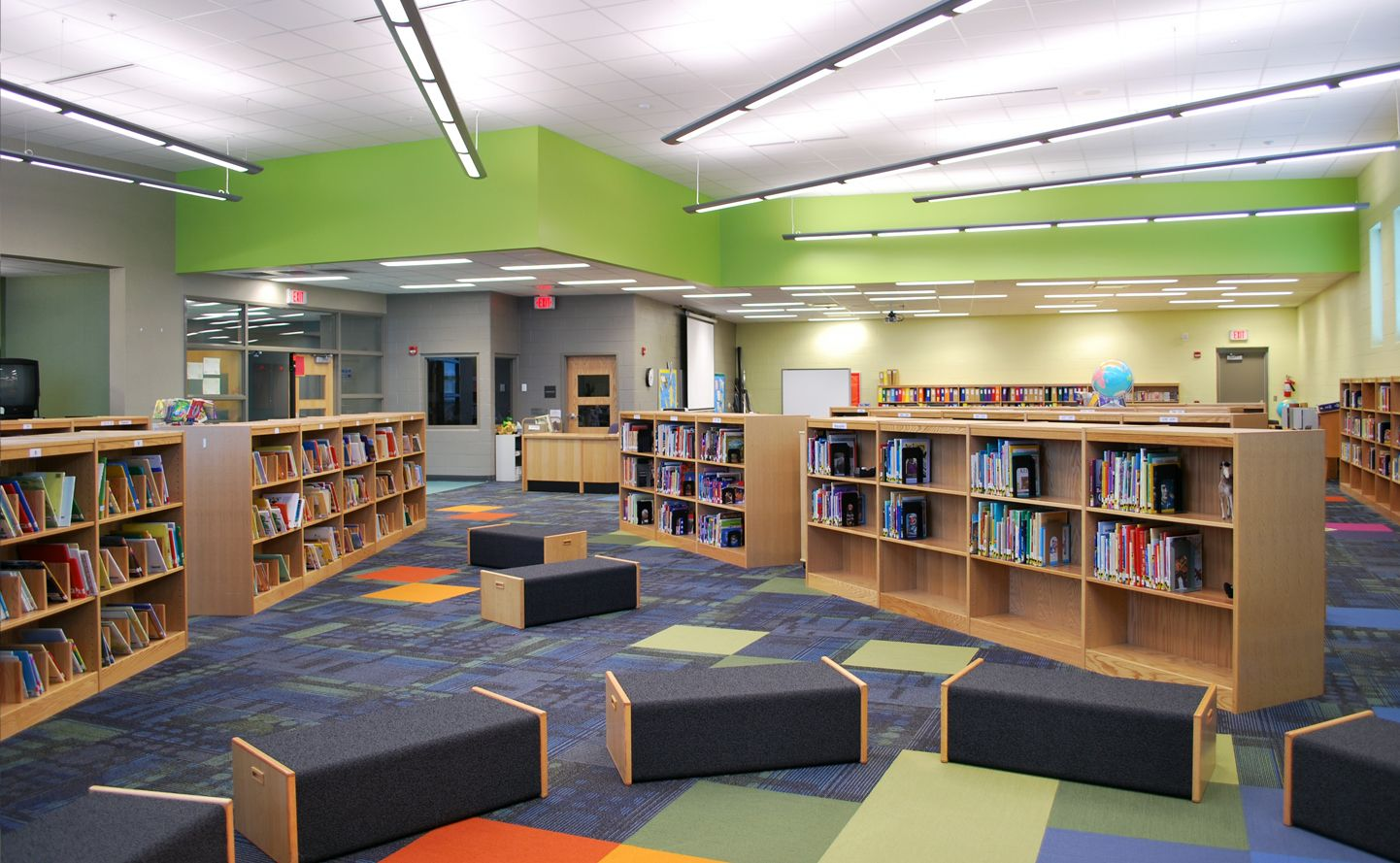 Lincoln Elementary Performing Arts School Interiors