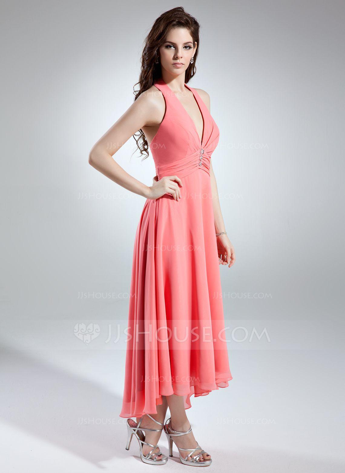Lujoso Asymmetrical Bridesmaid Dress Galería - Colección de Vestidos ...