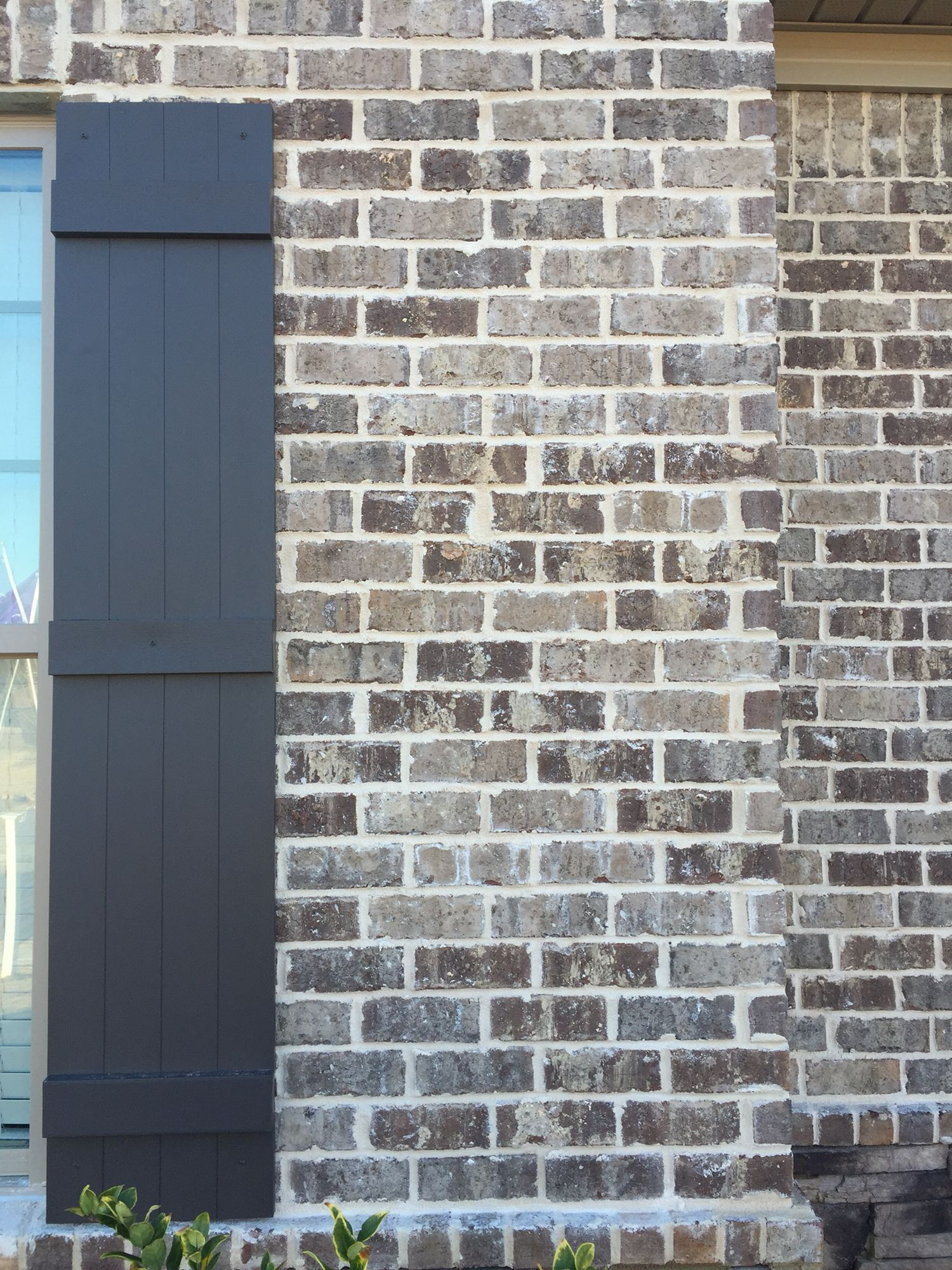 Mortar Color Gray : Pine hall brick marshton queen with ivory mortar