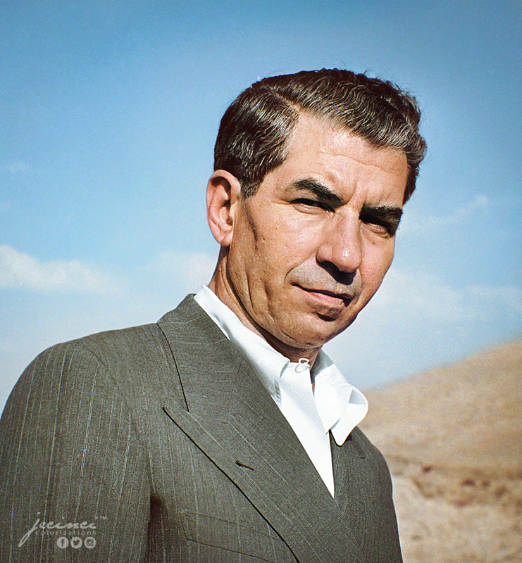 Mafia Boss Charles Lucky Luciano In Exile Sicily Italy 31 December 1948 Mobster History Charles
