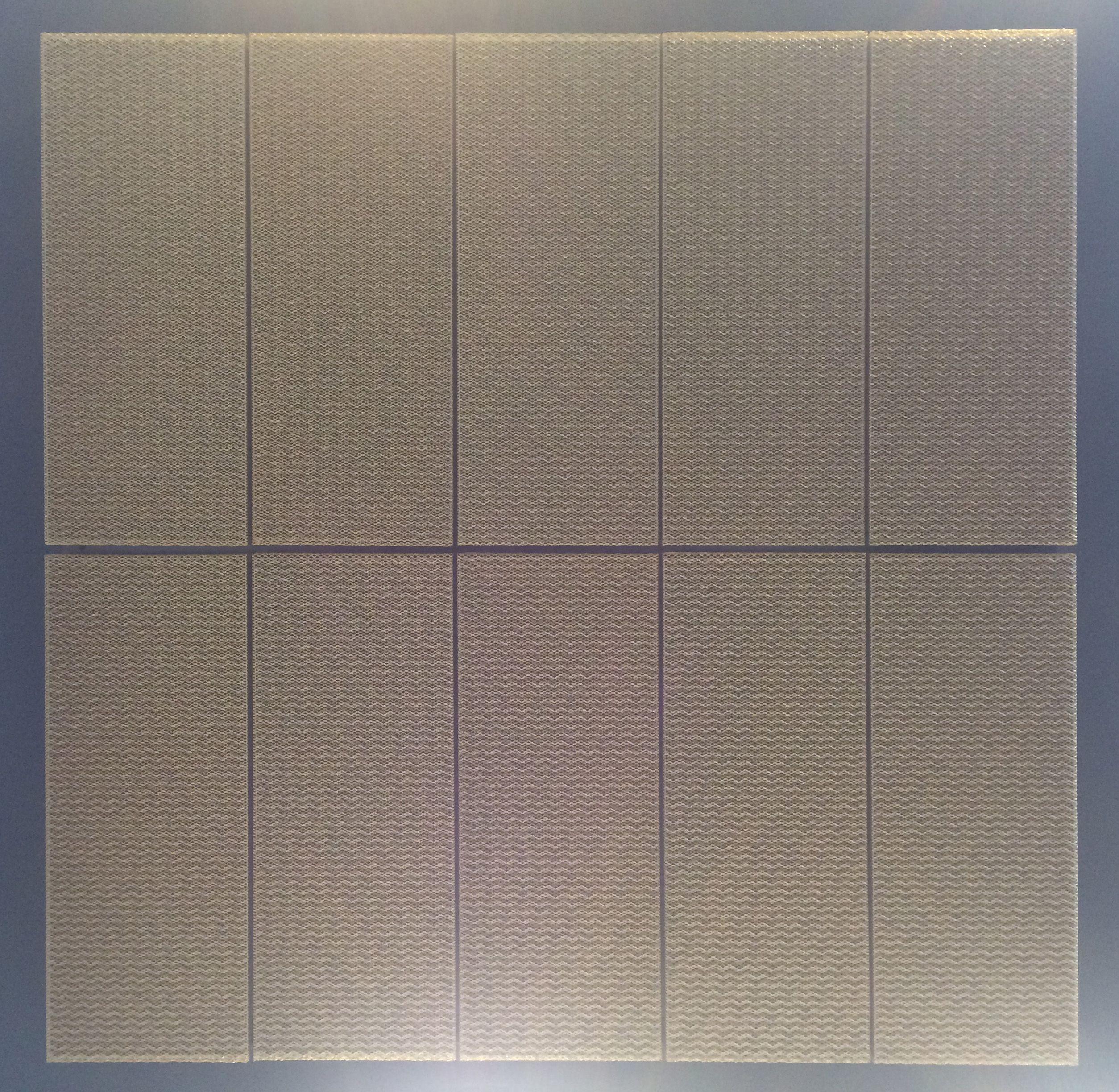 3D Mesh for ceilings by Lindner. | Architektur / Innendrin ...
