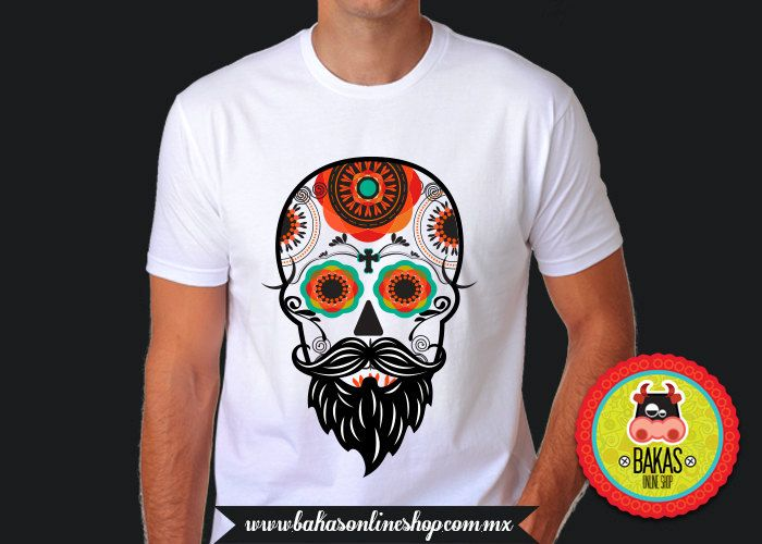 ropa/day of the dead skull/sugar skull/clothing mens/tshirt/hipster tshirt/T-Shirt/t-shirt mens/graphic tshirt/skull tshirt/cráneo t shirt/ vFm21oN