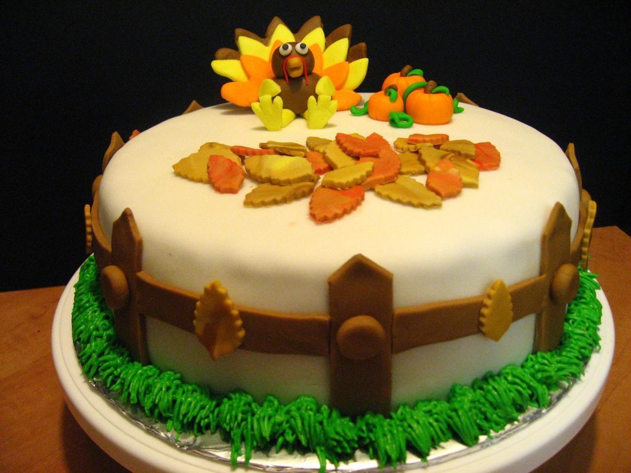 Pasteles En Fondant Thanksgiving S Cake Pasteles Para Dia De