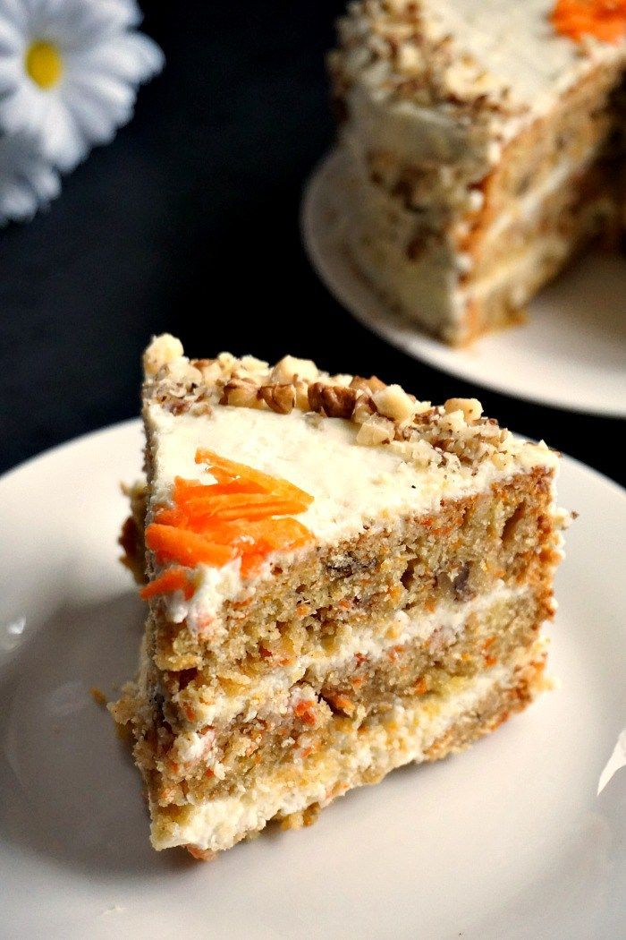 Carrot Cake With Walnuts Carrot Cake Recipe Cake Recipes Uk Cake Recipes