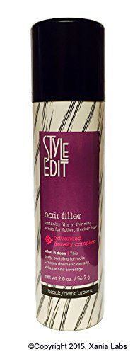 Style Edit Hair Filler Captivating Hair Filler Blackdark Brown 2Ozstyle Edit ® Instantly Fills