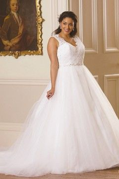 Shop With Sidebar. HOME / Wedding Dresses & Bridal Gowns / Julietta - Plus  Size ...