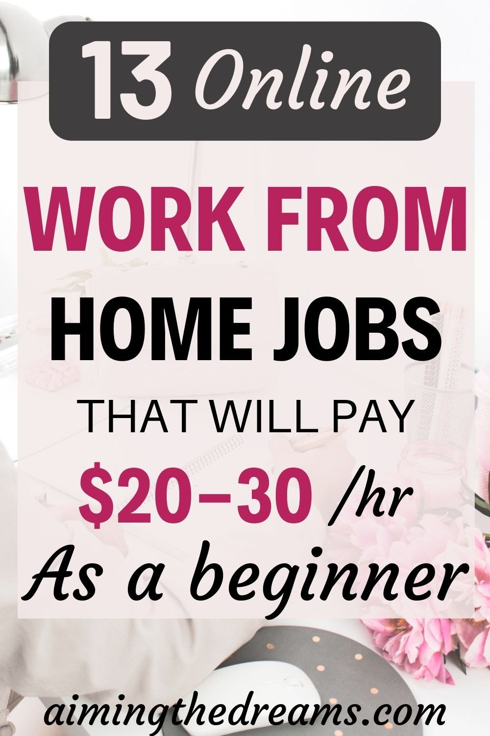 13 genuine online jobs that pay $20 an hour or mor