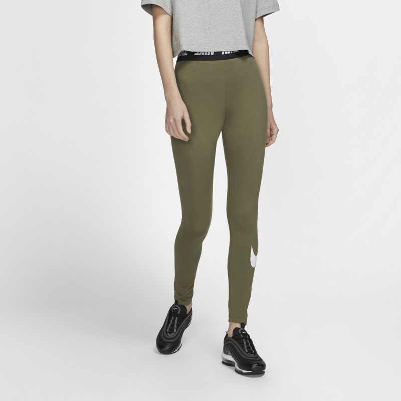 4c4e6f7053 Nike Sportswear Club Women's High-Rise Leggings - Olive in 2019 ...