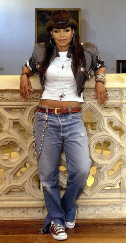 janet jackson in a cowboy hat miss jackson pinterest. Black Bedroom Furniture Sets. Home Design Ideas
