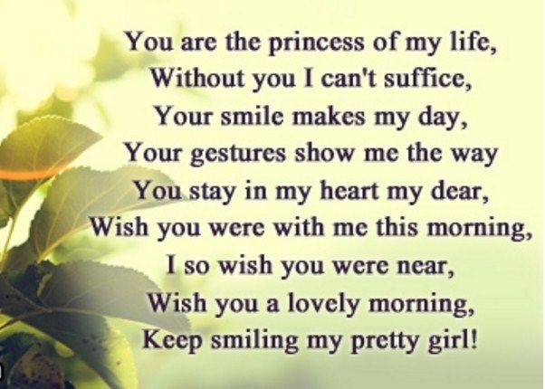 Good Morning My Love Poems 1
