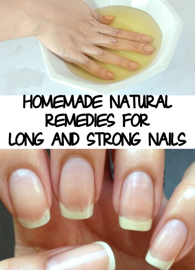 Strong Nails - Natural Remedies for Long and Strong Nails | Stronger ...