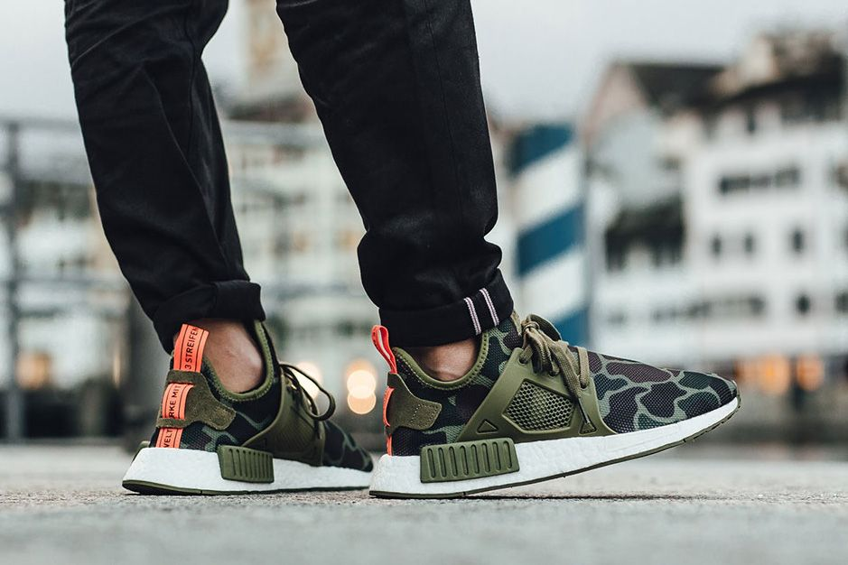 An On Feet Look At The adidas NMD XR1 Leather Pack
