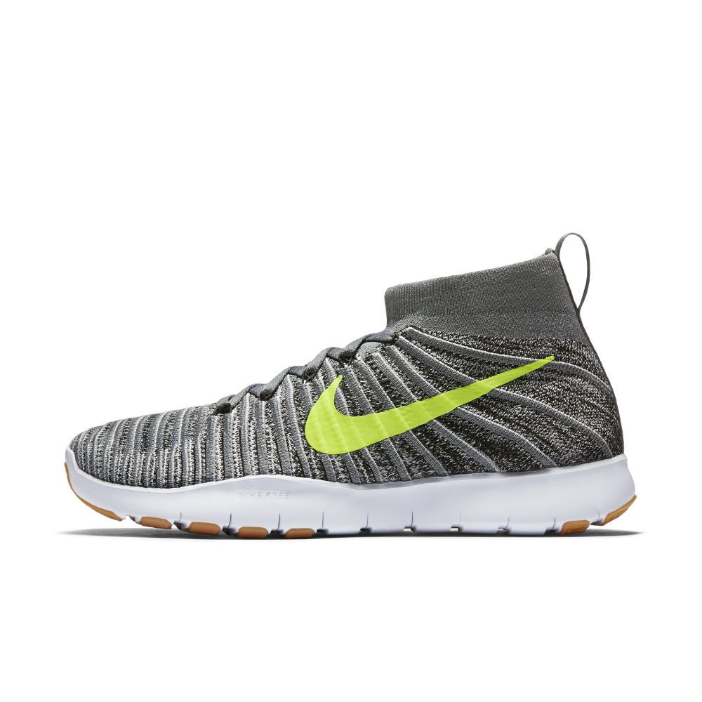 Nike Free Train Force Flyknit Men's Training Shoe Size 10.5 (Grey) -  Clearance Sale