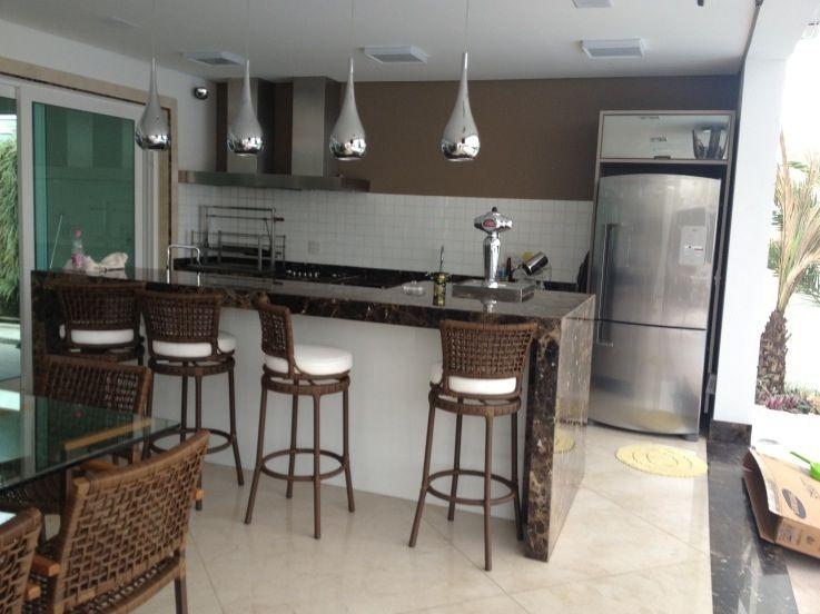 Churrasqueira rea de lazer id ias para casa for Banquetas altas modernas