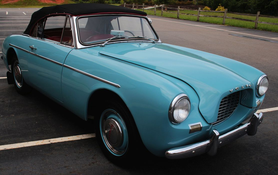 Exceptional 1956 Volvo Sport P1900 Convertible   A Fiberglass Bodied 2 Seat Roadster, Of Design Inspirations