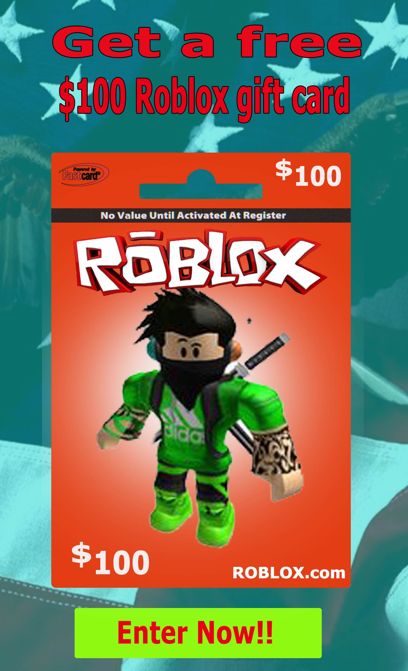 Get Free 100 Dollar Roblox Gift Card Code In 2020 Roblox Gifts Xbox Gift Card Free Itunes Gift Card