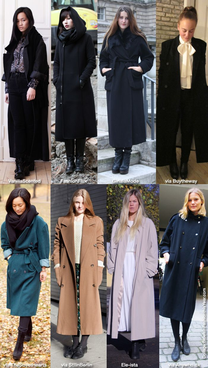 1000  images about Winter Fashion: Long Coat on Pinterest | Wool